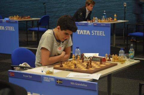 VM: Aryan Tari ligger godt an til å bli Norges første junior-verdensmester i sjakk. Bildet er fra en tidligere turnering.