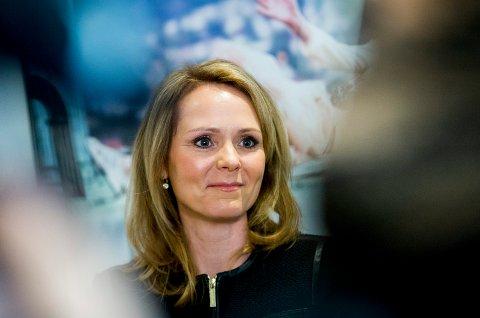 Linda Hofstad Helleland (H) kan bli klar for sin tredje ministerpost fredag, ifølge NRK.