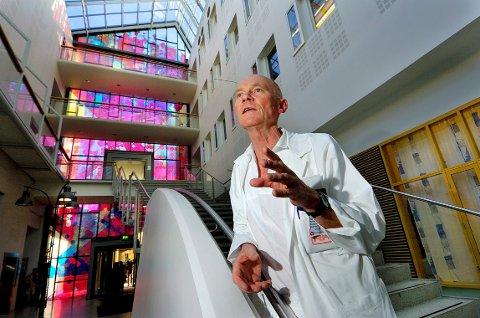 EN PERSONLIGHET: Professor Ole Fyrand gjorde seg bemerket både som lege, forfatter, spaltist og debattant.