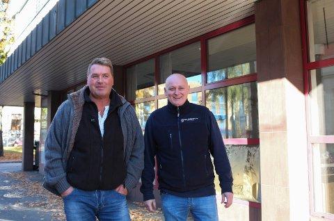 STARTER BUTIKK SAMMEN: Morten Sire og Aksel Andersen starter kjøtt- og fiskeutsalg i månedsskiftet mellom januar og februar.