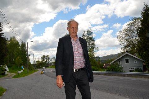 FYLKESRÅD: Senterparti-politiker Olav Skinnes er Buskeruds eneste i fylkesrådet i Viken.