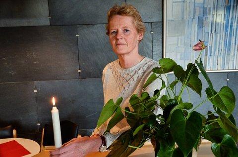 Ordføer i Modum kommune, Sunni Grøndahl Aamodt.