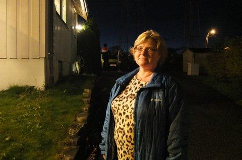 RØYKUTVIKLING HJEMME: Helene Libråthen var på vei til Konnerud da datteren ringte og fortalte det kom røyk fra kjelleren.