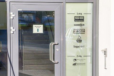KONKURS: Hovedkontoret til Kircon AS i Apalveien, Geithus.