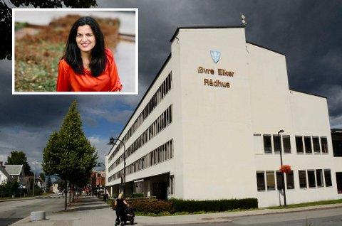 PÅ VEI OPP: I fjor lå Øvre Eiker på 73. plass, mens i år ligger kommunen på 54. plass. Regiondirektør i NHO Viken Oslo, Nina Solli, har noen ideer om hvordan kommunen kan bli enda bedre.