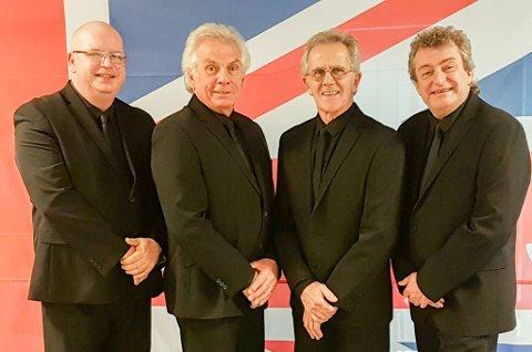 EIT AV DEI TRE STØRSTE: Herman`s Hermit var ei av dei tre mest populære gruppene i 1965, i USA. No kjem dei til Florø.