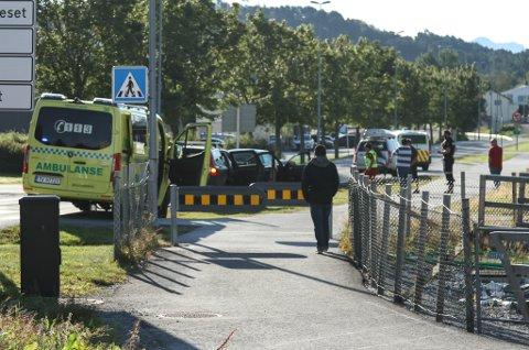Trafikkuhell på Evja mandag 9. aug.