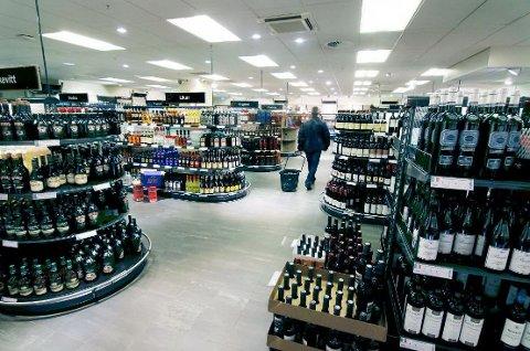 KAN BLI STENGT: Vinmonopolansatte kan være i streik fra midnatt natt til lørdag.