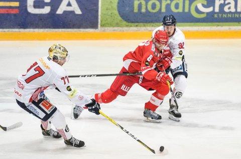 Lillehammer åpnet 1. period best, men Stjernen våknet og var mer med på notene i siste halvdel.