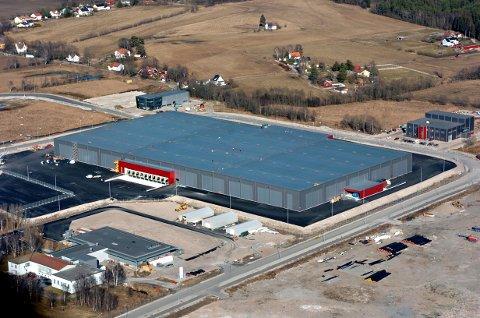 Kan få ny nabo: Syklus vurderer å etablere seg rett ved Europris-lageret på Øra. (Arkivfoto: Geir A. Carlsson)