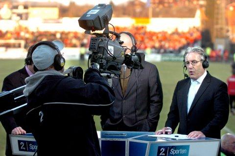 Davy Wathne og TV2 får skryt for jobben de har gjort med å formidle norsk fotball til seere og supportere. Arkivbilde fra kampen FFK - Brann 1-1, så tidlig som i 2006.