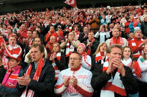 INVASJON RAUFOSS: FFK-supporterne vil garantert gjøre seg bemerket på Nammo Stadion den 23. september.