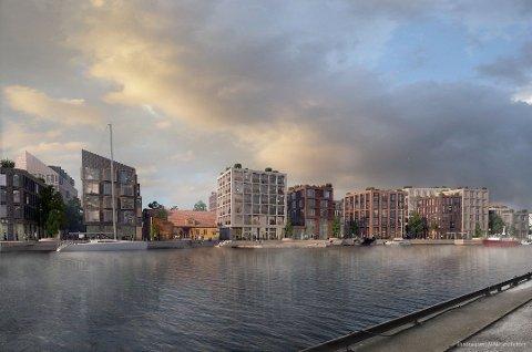 FÅR KRAV OM AVFALLSSUG? I fremtiden skal kommunen og Cityplan bygge ut flere hundre boliger på Trosvikstranda. Det er nettopp slike store, nye boligprosjekter hvor teknisk utvalg-politikerne når går inn for at avfallssug må vurderes og i enkelte tilfeller kreves.