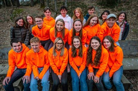 Elevene som går valgfaget «innsats for andre» på Kråkerøy ungdomsskole arrangerer digital innsamlingsaksjon for Krafttak mot kreft.