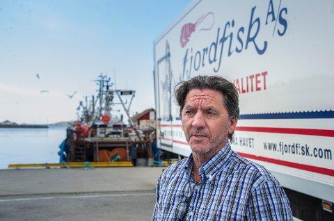 Kurt Allan Hansen er sjef for Fjordfisk i Utgårdskilen.