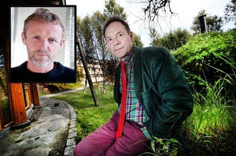 REAGERER: Ánde Somby reagerer på forfatter Jo Nesbøs beskrivelse av samen «Mikkel» i hans nye bok «Mere Blod». Foto: Torgrim Rath Olsen/Scanpix