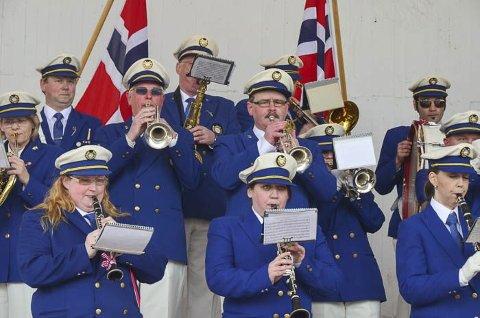 LKAB Musikkorps spiller jubileumskonsert på lørdag.