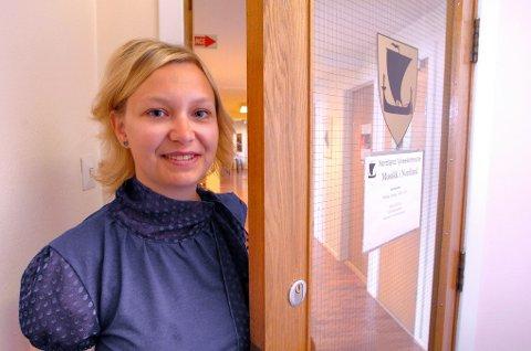 MIN-LEDER: -Hvordan vil vi at vi skal fremstå som by i 2027? Det store spørsmålet stiller Vibeke Forshaug som skal lede arbeidet med på profesjonalisere kultursatsingen i Narvik frem mot 2027.