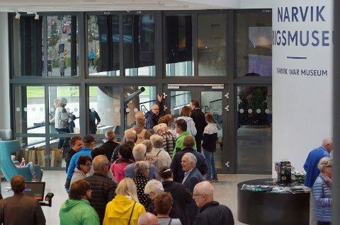 Etter at krigsmuseet åpnet i Det 4. hjørnet har publikum strømmet til. Det totale besøkstallet for 2016 ble likevel lavere enn året før.