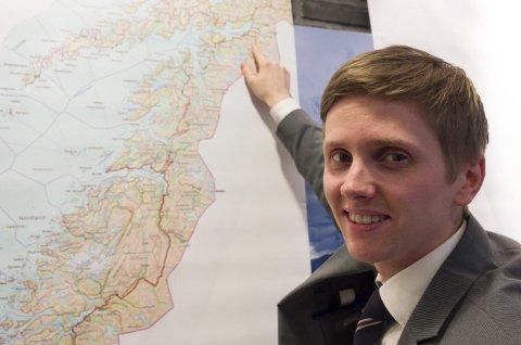 Attraktivt: Narvikregionen er et attraktivt sted for etablering av datalagring, mente statssekretær Reynir Jôhannesson overfor Fremover i februar 2016.