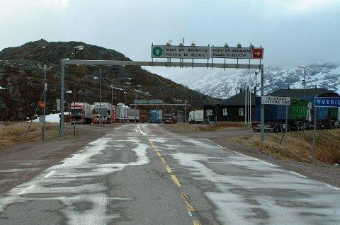 UTVIDER: Bjørnfjell tollsted får utvidede åpningstider. Det melder Tolletaten. Arkivfoto