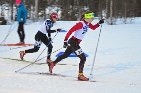 VANT: Ida Tovås fra Evenes går til daglig på skilinja i Nordreisa. Lørdag vant hun sin første distanse i Norgescupen noensinne.
