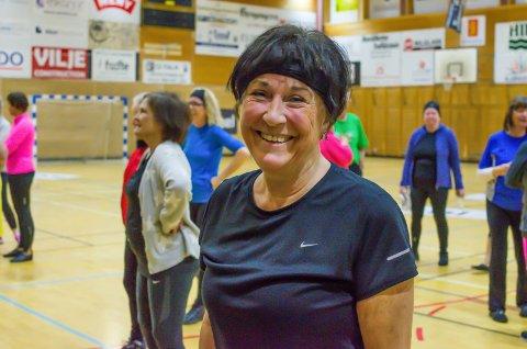 SPREK DAME: Solvei Kjøraas har i alle år vært en aktiv dame, også i Horten Turnforening. I år er hun også den kvinnen i Horten som hadde høyest inntekt.