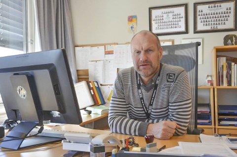 SØKER ETTER SMITTET: Krimsjef i Larvik, Knut Vidar Vittersø sier mannen som forsvant fra isolasjon i Larvik kan ha reist videre fra byen.
