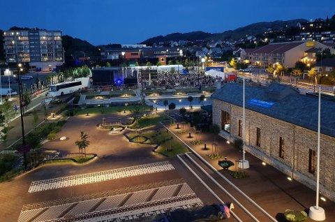 Belysningen på torget i Oslo har fått en diplom av organisasjonen Lyskultur.