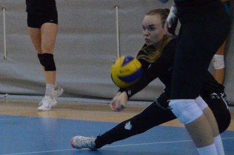 Ivrig: Randabergs libero Susanne Marie Salanto mener NM-finalen på lørdag blir den første svært spennende finalen hun har spilt i, der alt kan skje.