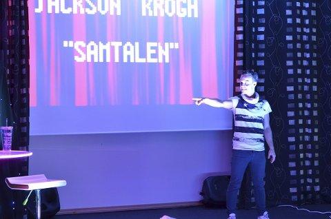 Bokbad: Magnus Jackson Krogh kommer til Flisa og forteller om sitt liv med ADHD i rådhuskinoen.