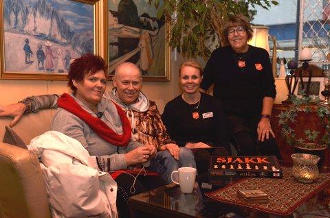 Fra venstre: Mette Brækken, Rune Nordli, Monica Aas og Anne-Beth Fagermo.