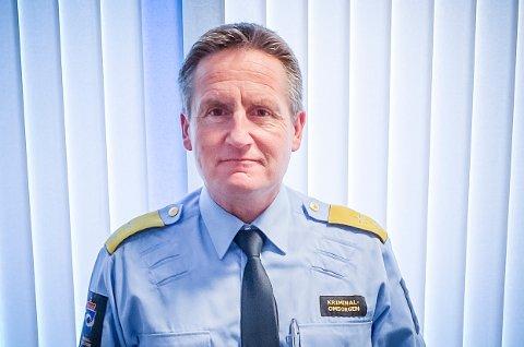 LEDER: Jan Korsvold ble 1. januar enhetsleder for Kriminalomsorgen Innlandet.