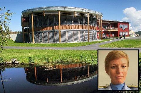 AVVISER IKKE: Ingrid Mæhre, stedlig leder for operativ seksjon ved politiutdanningen på Sæter (innfelt), kjenner seg ikke igjen i det som er kommet fram de siste dagene, men avviser ikke at det kan ha skjedd seksuell trakassering i Kongsvinger.