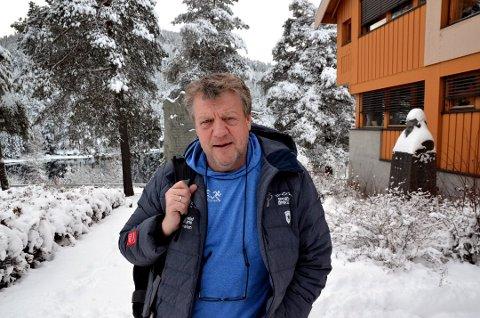 IKKE IMPONERT: Erik Østli, arrangementskoordinator i Beitostølen Fjellmaraton, er ikke imponert over at Birken legges til samme dato som de allerede har valgt.