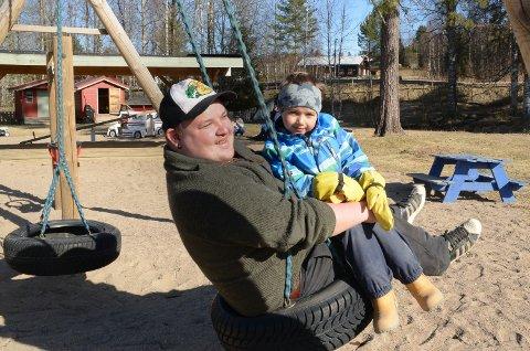 GÅR BRA: Ungene er på plass og ting fungerer som de skal i Finnskogen barnehage, sier daglig leder Dan-Kenneth Haugen.
