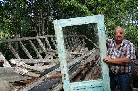 VIKTIG: – Det er viktig å benytte anledningen til å rydde opp i falleferdige bygninger nå, sier Per Roar Bredvold.