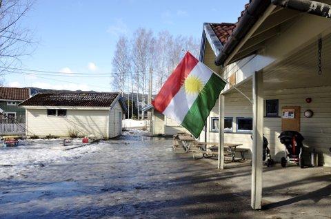 I Norbana barnehage i Lillehammer går barn fra flere nasjonaliteter. Bildet er fra i fjor når de arrangerte Kurdisk nyttårsfeiring. Arkivfoto: Karen Bleken