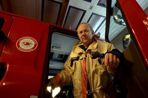 STENGER SKYTEBANENE: Brannsjef Birger Bakken går til drastiske skritt for å begrense skogbrannfaren.