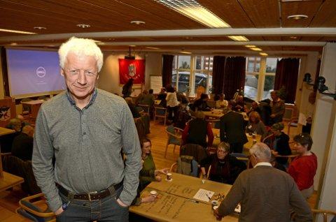 Einar Busterud er tilbake.