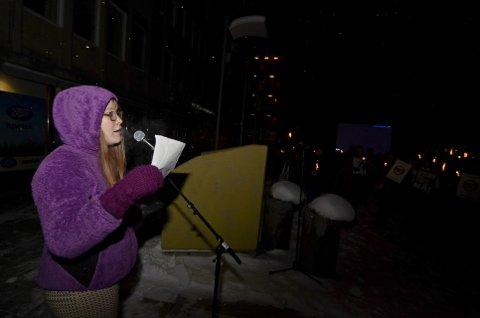 STERK STØTTE: Sigrid Mæland i Noah påpekte at fire av fem unge er mot pelsdyroppdrett i Norge.
