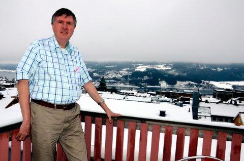 Haakon Wiig er styreleder for Gålå turløyper.