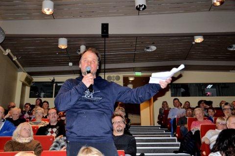 Handle lokalt: Øistein Formo meiner noko av det viktigaste alle kan gjere, å vere lojale og handle lokalt. Foto: Solrun S. Snilsberg