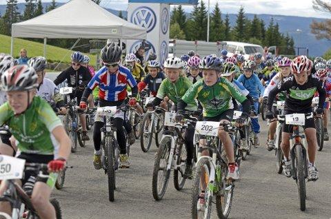 TERRENGRITT: Den nye GD-cupen på sykkel vil i 2016 bestå av fire terrengritt for klassene 11-12 år, 13-14 år og 15-16 år. Alle rittene vil være åpne for syklister fra seks år og oppover.