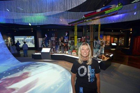 OL-QUIZ: Mari Synnøve Stakston ved Norges Olympiske Museum på Lillehammer har laget en rekke nøtter som du kan knekke på baksida av GD de neste to ukene - og vinne flott premier.?Foto: Rune René Kristiansen