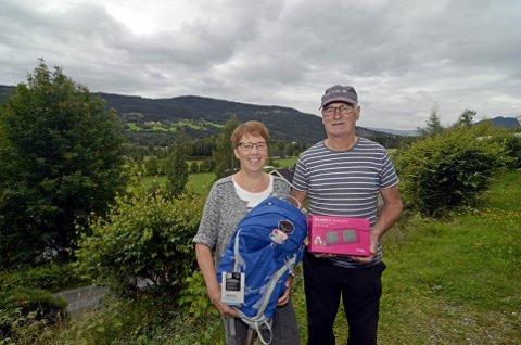 DELT SEIER: Alfred Unosen brukte kona Berits e-post til å svare på GD og OL-museets Rio-quiz - og er dermed avhengig av hennes velvilje for å få sin del av premien.