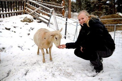 Therese Rudi (27) står på 7. plass på kommunevalglista til Ap. Landbruk er hjertesaken.