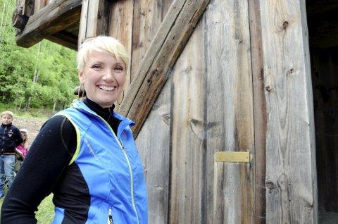 TRYGG FORELØPIG: Marit Lien, daglig leder for  Peer Gynt AS.
