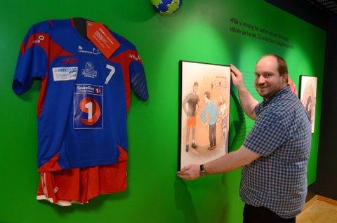 MANGE HAR IKKE RÅD: Sebastian Kühn og Norges Olympiske Museum på Maihaugen, åpner utstilling om barneidrett.