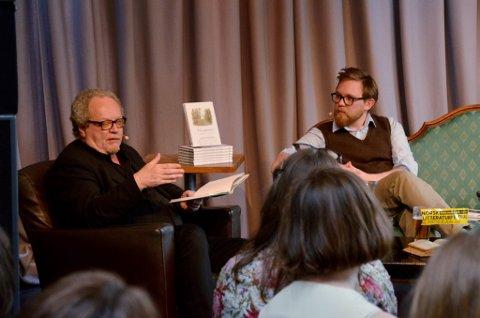 """Erik Bystad i samtale med Mathias R. Samuelsen om David Thoreau og oversettelsen av hans bok """"Kunsten å gå"""".  Café Stift lørdag 3. juni"""